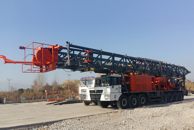 Truck/Trailer Mounted Drilling Rig