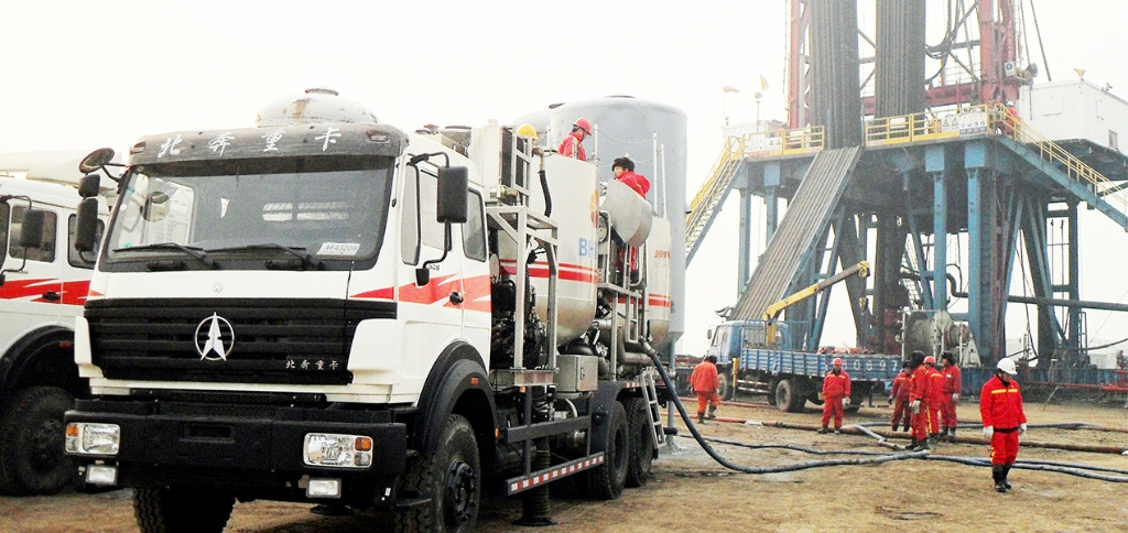 PHC208 Truck Mounted Batch Mixer for Cementing Operation in Hebei, China