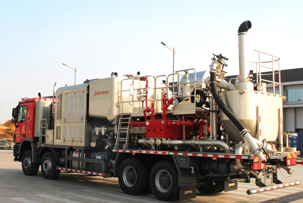 Twin Pump Cementing Unit