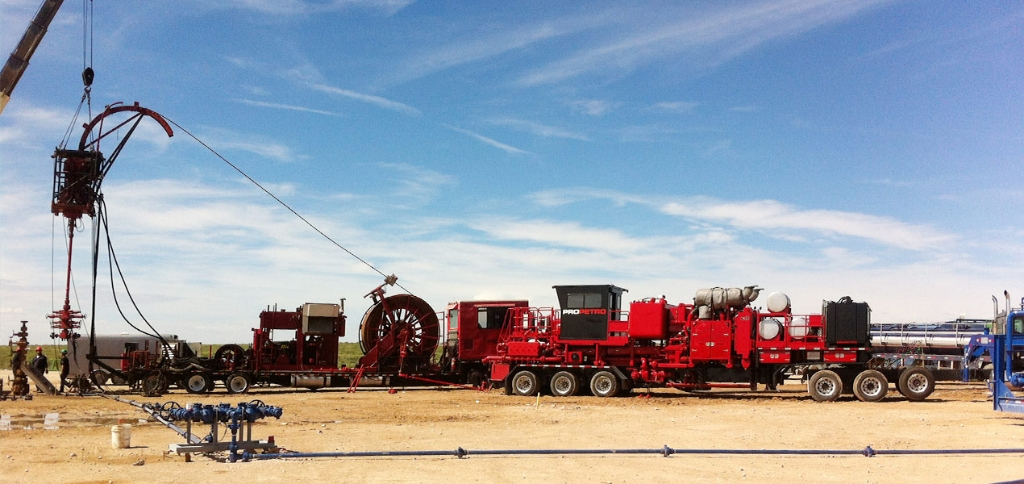 Jereh Trailer Mounted Acidizing Fracturing Unit in USA