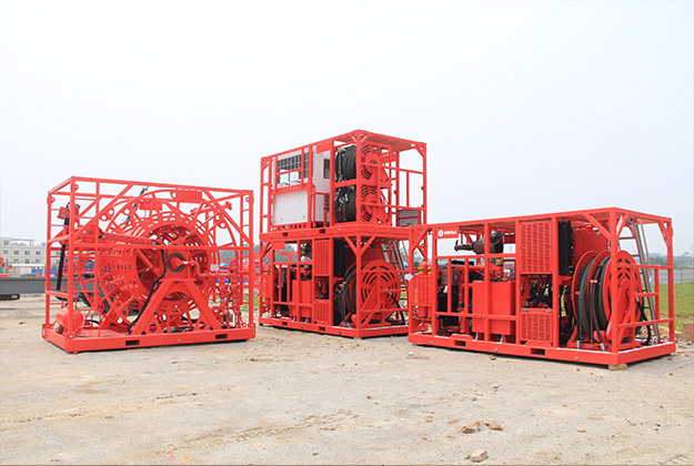 Skid Mounted Coiled Tubing Unit