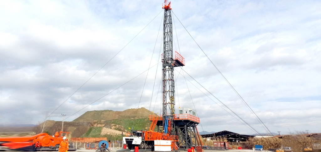 Jereh ZJ40 Truck Mounted Drilling Rig in Turkey